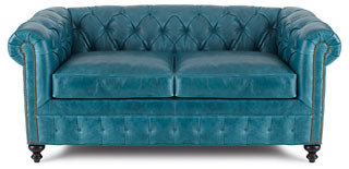 """Old Hickory Tannery Arianna"""" Leather Sofa"""