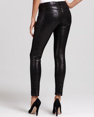 AG Jeans Ankle Legging Sequin Pants