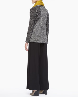 Eileen Fisher Washable Stretch Jersey Wide-Leg Pants