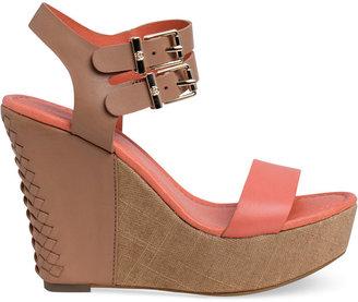 Elliott Lucca Giulia Platform Wedge Sandals