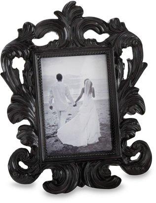 Bed Bath & Beyond Kate Aspen® Black Baroque Place Card and Photo Holder Wedding Favor