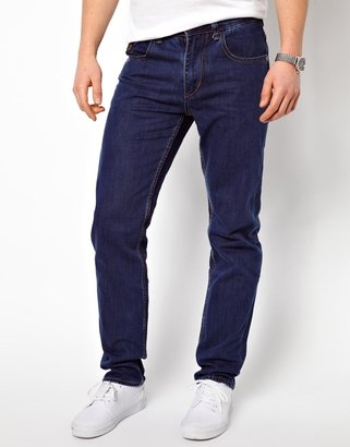 Two Angle Straight Leg Jeans