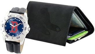Boston Red Sox Watch & Wallet Gift Set
