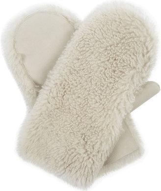 Karl Donoghue Pillow lambskin mittens