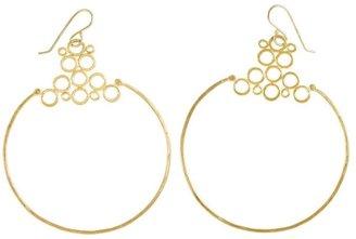 Rosanne Pugliese 22kt yellow gold 'Morocco' hoop earrings