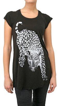 Lauren Moshi Leopard Jersey T-Shirt