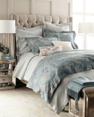 "Sferra Peacock Jacquard"" Bed Linens"