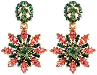 Oscar de la Renta Prismatic Etoile Earrings