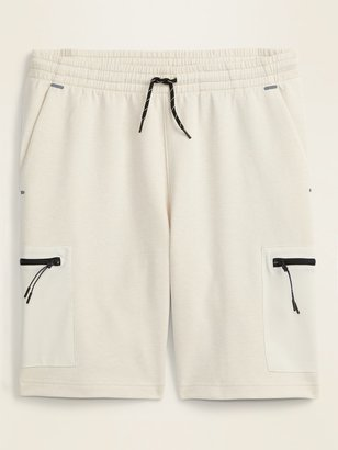 Old Navy Dynamic Fleece Cargo Jogger Shorts for Men -- 9-inch inseam