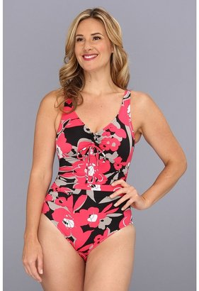 Magicsuit Blossom Yasmin One-Piece (Red) - Apparel