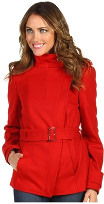 Ted Baker Cunioy Funnel Neck Jacket (Brick Red) - Apparel