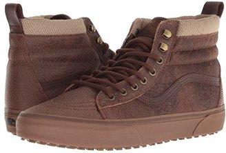 Vans SK8-Hi MTE ((MTE) Leather/Brown/Herringbone) Skate Shoes