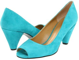 Nine West FallHard (Turquoise Suede) - Footwear