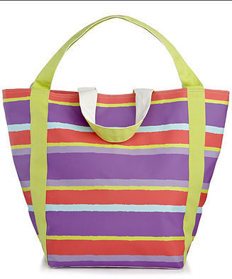 Martha Stewart Collection Hazy Stripe Beach Tote