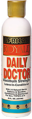 African Royale Daily Doctor Maximum Strength Leave-In Conditioner