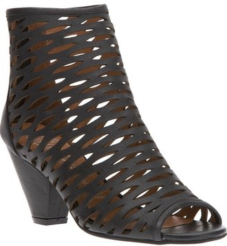 Jeffrey Campbell peep toe ankle boot