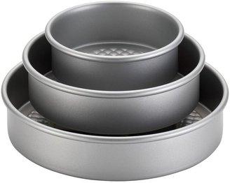 Cake BossTM Professional 3-pc. Nonstick Round Cake Pan Set
