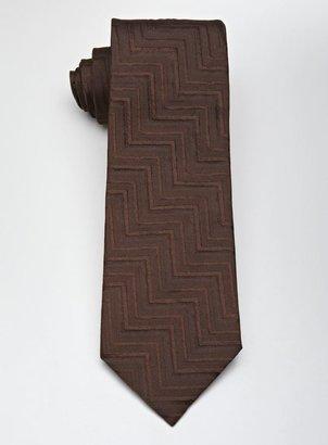 Gianfranco Ferre Geometric Patterned Woven Tie