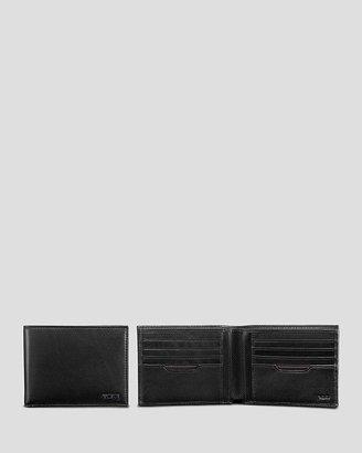 Tumi RFID Delta Global Double Bi-Fold Wallet $100 thestylecure.com