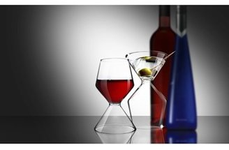Tini AD-N-ART 'Vino Tini' 2-in-1 Wine & Martini Glass