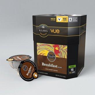 Keurig Tully's Breakfast Blend Vue Cups, 16 Pack