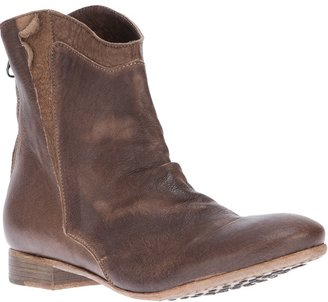 Nylo leather western boot