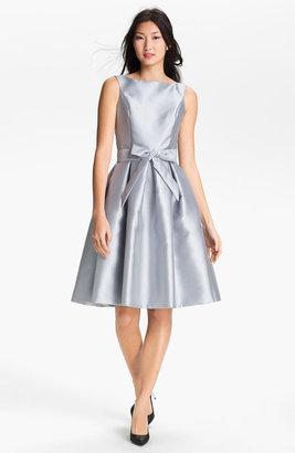 Isaac Mizrahi New York Satin Fit & Flare Dress
