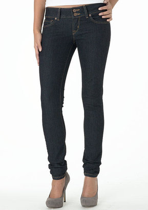 Alloy Piper's Closet Pipers Closet Double Button Skinny Jean