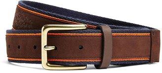 Brooks Brothers Southwest Embossed Leather Belt