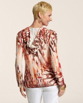 Helena Zenergy Hatchi Print Jacket