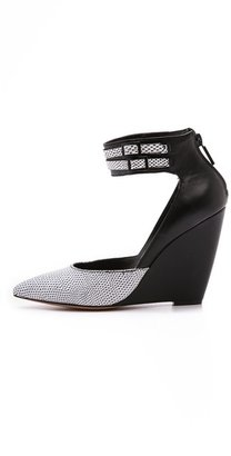 Pour La Victoire Lidia Ankle Strap Wedges