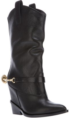 Giuseppe Zanotti Design heel spur cowboy boot
