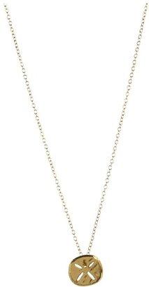 Gorjana Sand Dollar Neckalce (Gold) - Jewelry