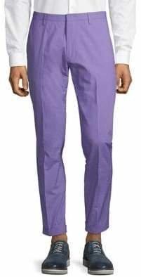 Paul Smith Slim-Fit Cotton Pants