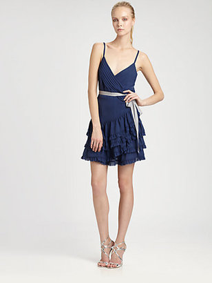 Nicole Miller Tiered Dress