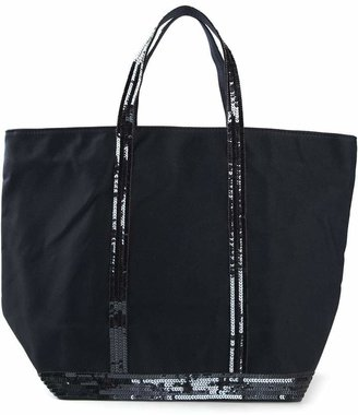 Vanessa Bruno sequins embroidered tote bag