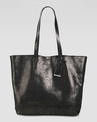 Cole Haan Haven Metallic Leather Tote Bag, Black