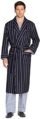 Brooks Brothers Stripe Lambswool Robe