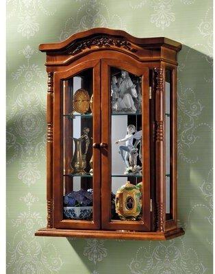 Toscano Design Beacon Hill Wall-Mounted Curio Cabinet Design