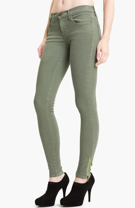 Current/Elliott Skinny Stretch Ankle Jeans