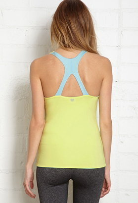 Forever 21 reversible training top
