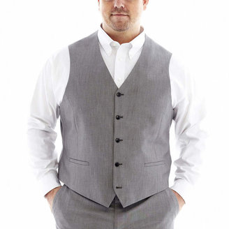 Jf J.Ferrar JF End on End Suit Vest - Big & Tall