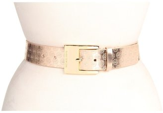 MICHAEL Michael Kors Michael Kors 1 1/2 Square Buckle (Specchi) (Rose Gold) - Apparel