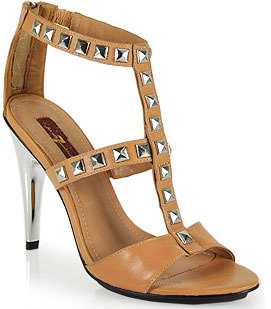 7 For All Mankind Detour - Sandal in Natural Leather