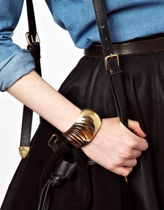 Asos Statement Disc Bracelet