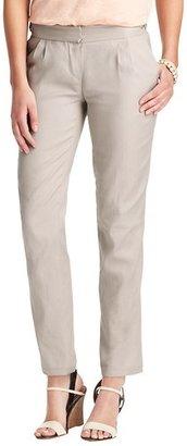 LOFT Zoe Ankle Pants in Stretch Linen Cotton