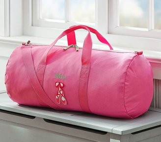 Pottery Barn Kids Fairfax Pink Duffle Bag