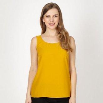 Red Herring Mustard single pocket vest top