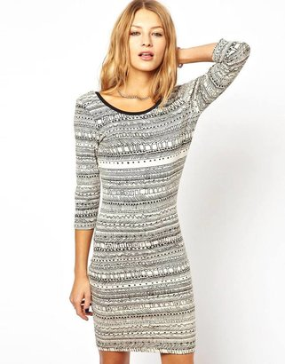Stussy Printed Body Con Dress