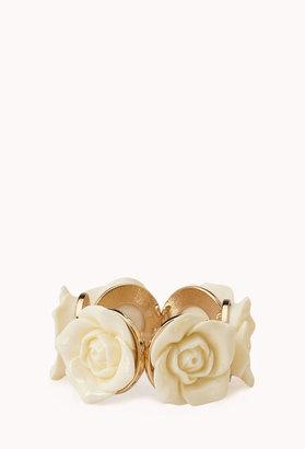 Forever 21 Rose Goddess Stretch Bracelet